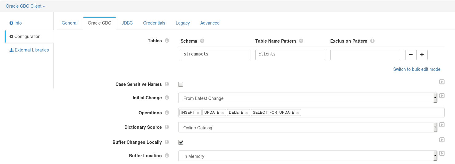 Processing Oracle CDC with StreamSets | Techie Shares